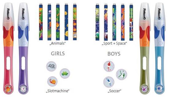 Griffix pens colour range