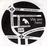 Left Handed Shop Beak Street, London