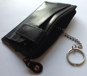 Left handed key holder