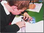 Left handed children starting school