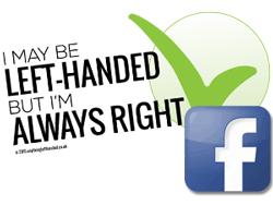 Left Handers Day on Facebook