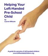 Left handed pre-school children